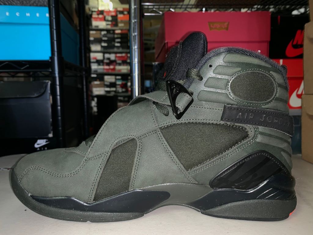 "Size 10 Air Jordan 8 ""Sequoia"""