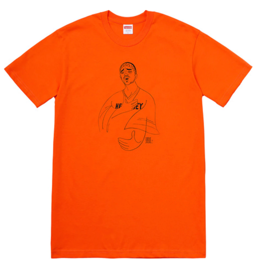 "Size Medium Supreme Prodigy Tee ""Orange"""
