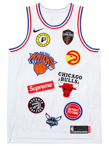 "Size Extra Large Supreme Nike NBA Teams Authentic Jersey ""White"""