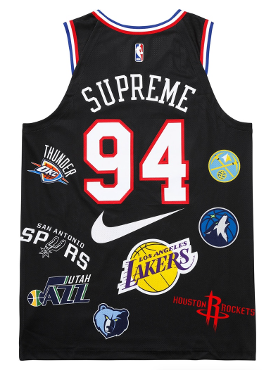 Size Large Supreme Nike NBA Teams Authentic Jersey