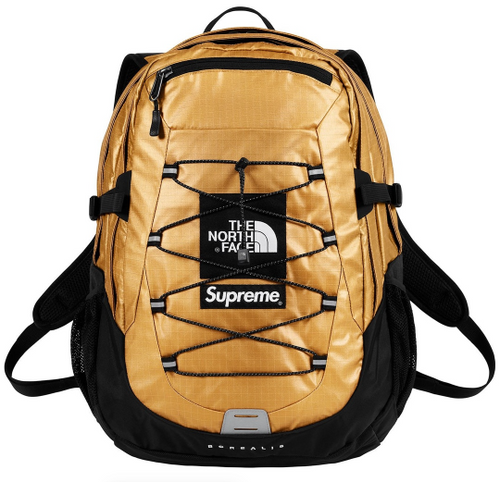"Supreme x The North Face Backpack ""Gold"""