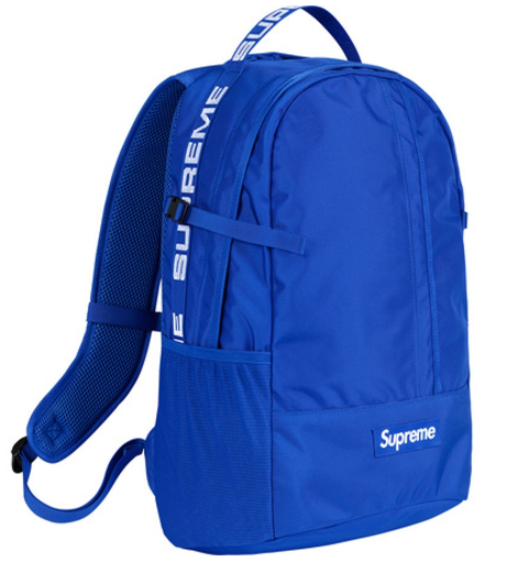"Supreme Backpack SS18 ""Royal"""