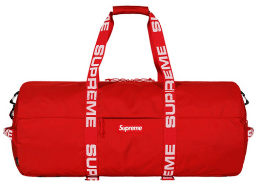 "Supreme Large Duffle Bag ""Red"""