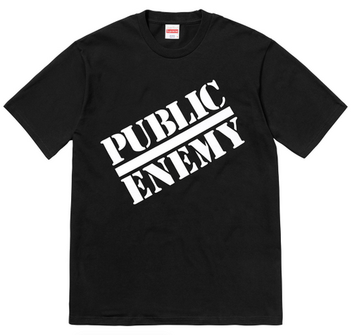 "Size Extra Large Supreme Undercover/ Public Enemy Tee ""Black"""