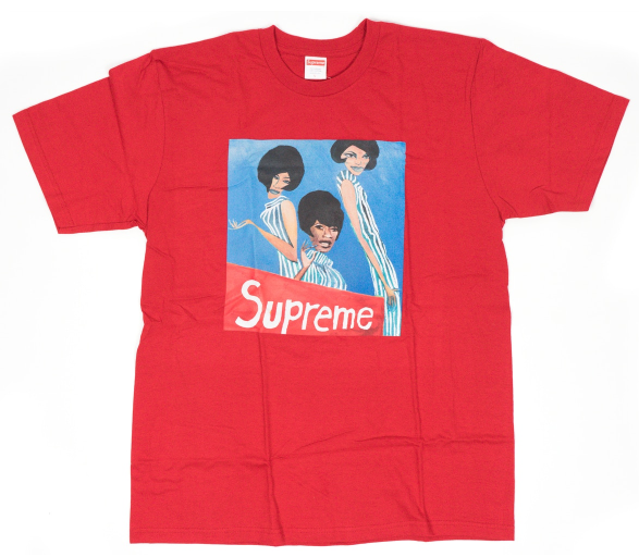 "Size Large Supreme Group Tee ""Red"""