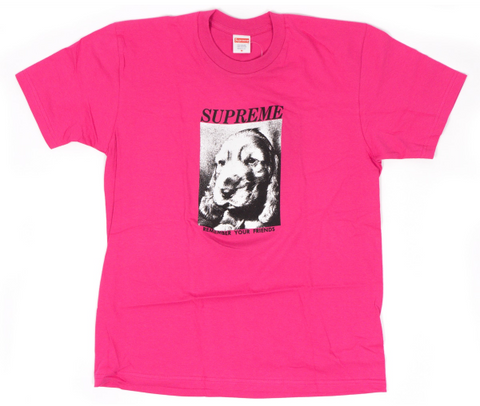 "Size Medium Supreme Faces Tee ""Pink"""