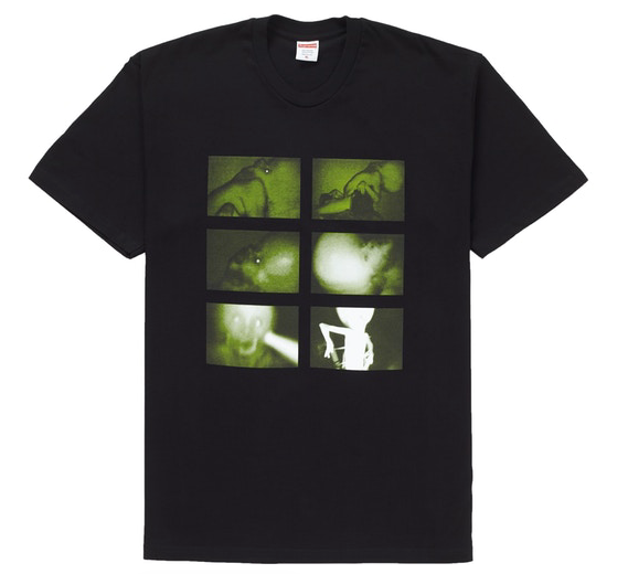 "Size Medium Supreme Chris Cunningham Rubber Johnny Tee ""Black"""