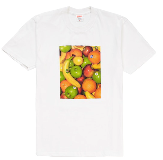 "Size Large Supreme Fruit Tee ""White"""