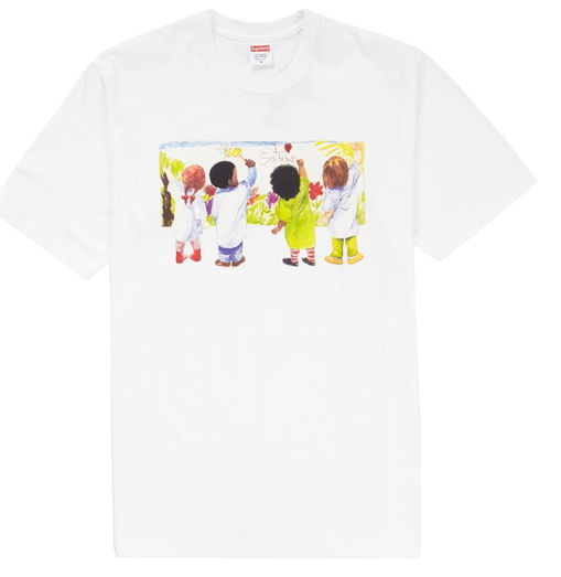 "Size Large Supreme Kids Tee ""White"""