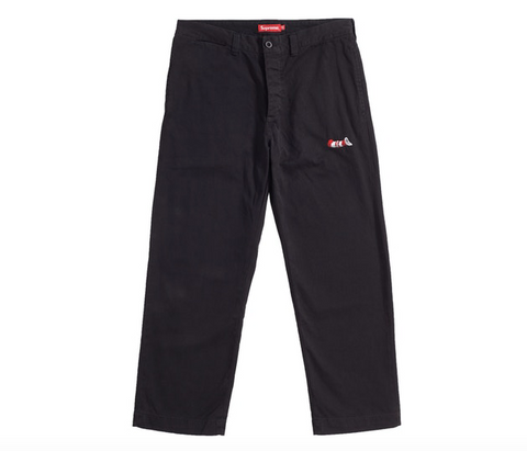 Supreme Cat in the Hat Chino Pant Black - Pass as New