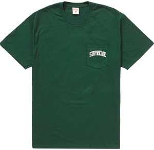 "Size Large Supreme NFL x Raiders '47 Pocket Tee ""Dark Green"""