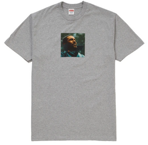"Size Medium Supreme Marvin Gaye Tee ""Grey"""