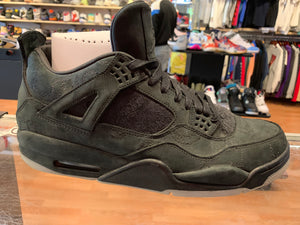 "Size 13 Air Jordan 4 KAWS ""Black"""