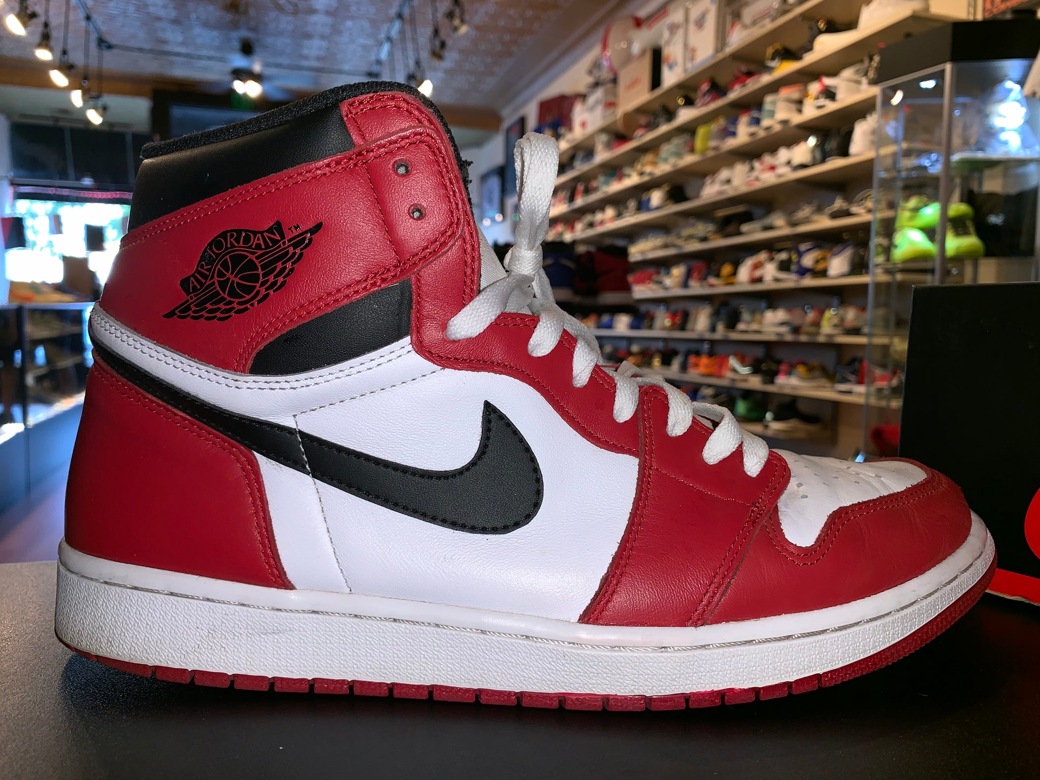 "Size 12 Air Jordan 1 ""Chicago"" 2015"