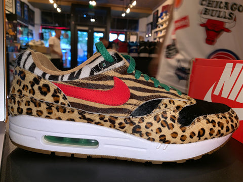 "Size 12 Air Max 1 DLX ""Animal Pack"""