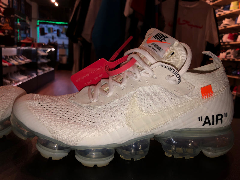 "Size 8 Nike Air Vapormax FK Off White ""White"""