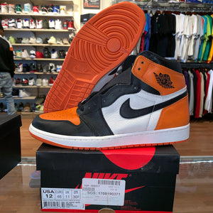 "Size 12 Air Jordan 1 ""Shattered Backboard"" Brand New"