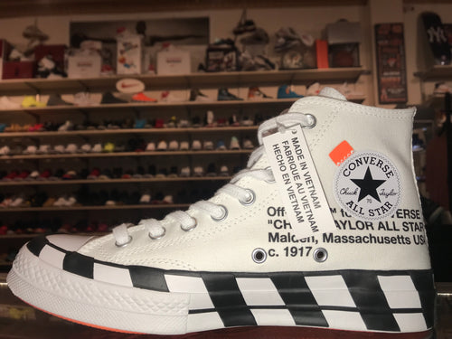"Size 12 Converse Chuck Taylor High ""Off-White"" Brand New"