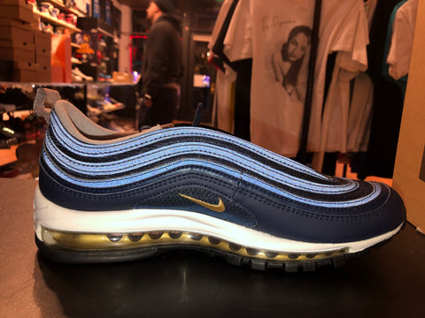 "Size 12 Air Max 97 OG ""Metallic Gold"""
