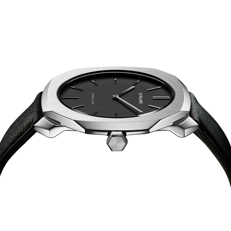 D1 Milano Super Slim Leather 36mm Side View