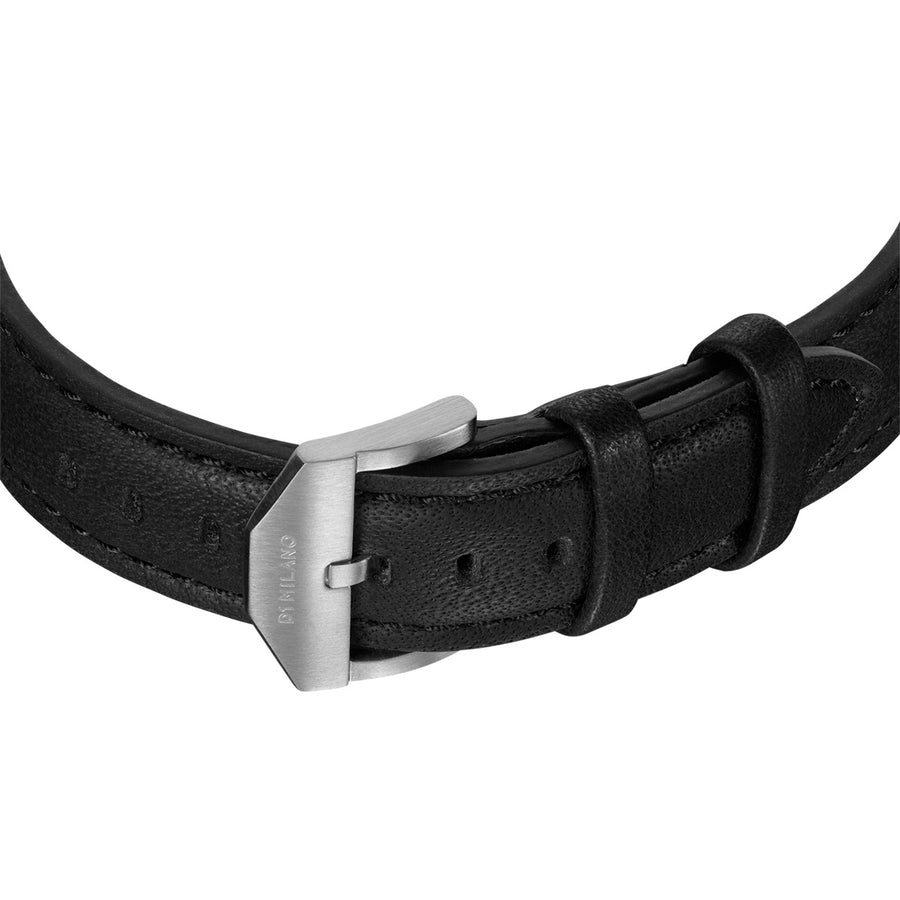 D1 Milano Super Slim Leather 36mm Buckle View