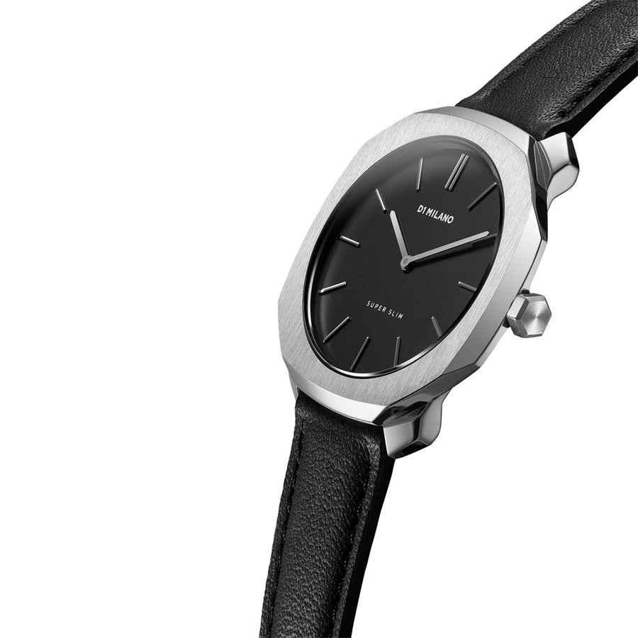 D1 Milano Super Slim Leather 36mm Model View