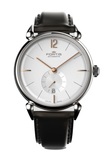 FORTIS ORCHESTRA A.M. STEEL LEATHER AUTOMATIC 40MM
