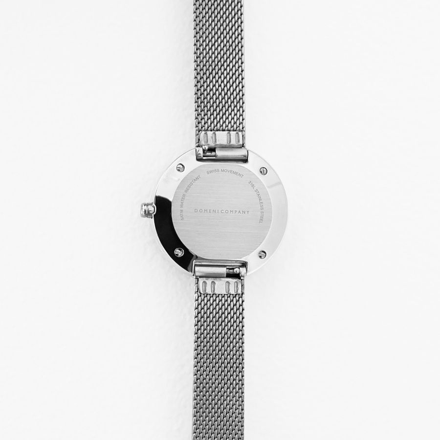 Domini Co Watch, SSM02-32, Back View