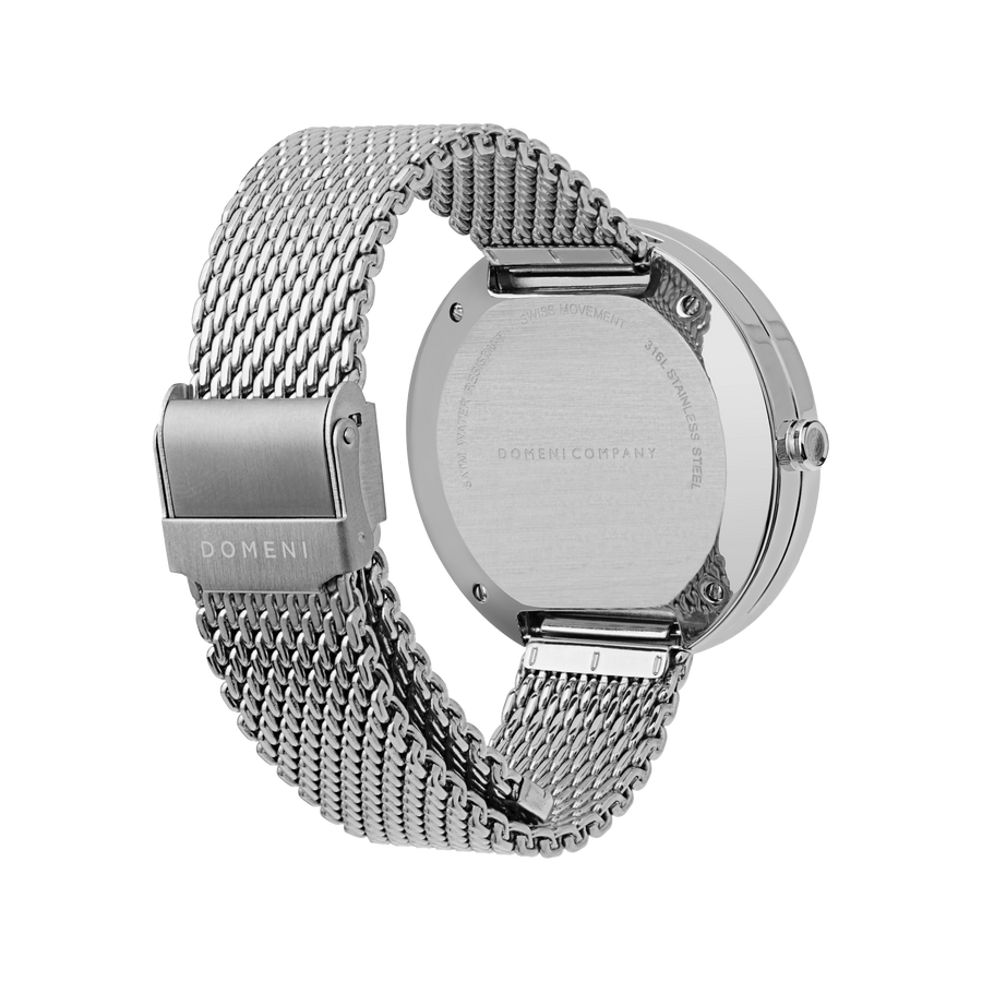 Domini Co Watch, SSM01, Back View