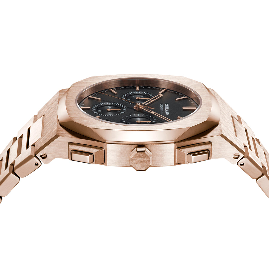 D1 Milano Chroma Chronograph Bracelet 41.5mm Side View