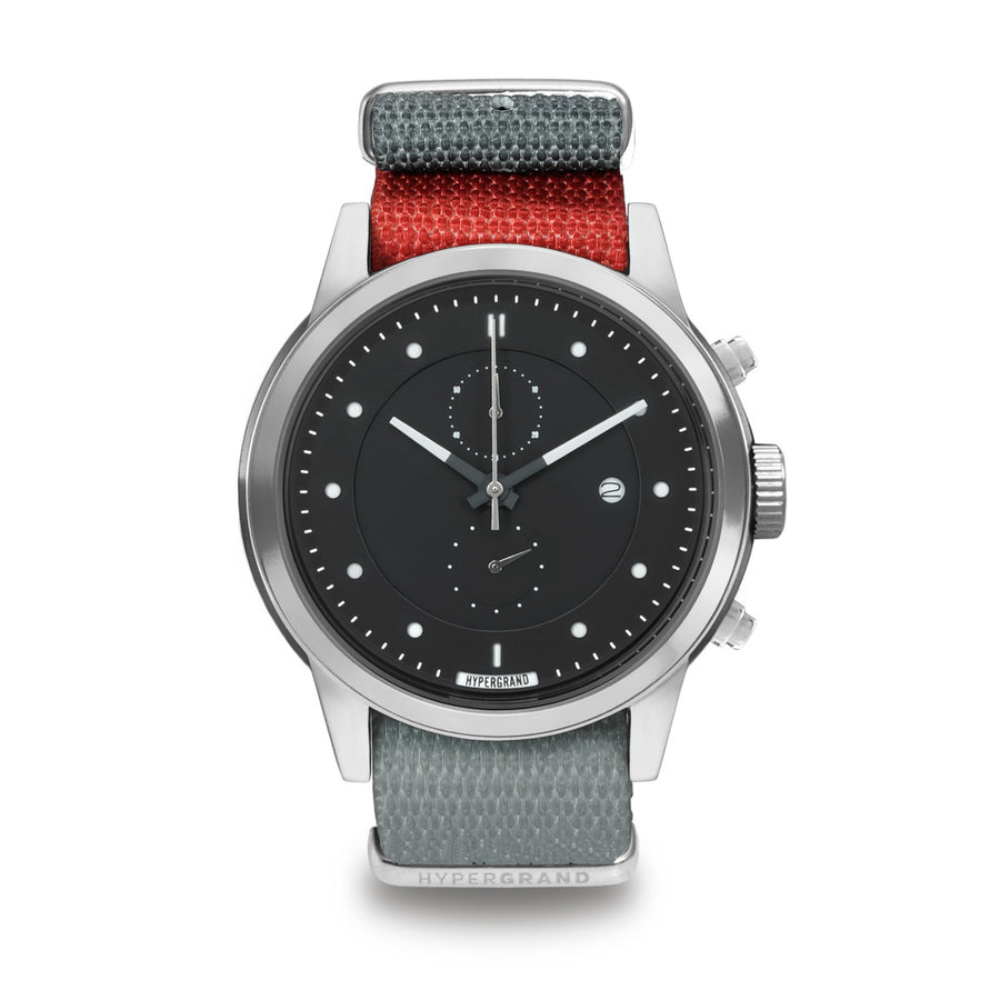Hypergrand Watch, Pulse Red, Front View