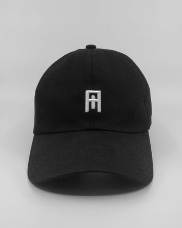 Nude Cult Black/White Cult Cap Front View