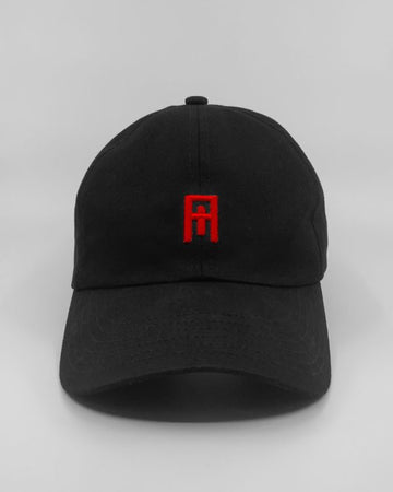 Nude Cult Black/Cult Red Cult Cap Front View