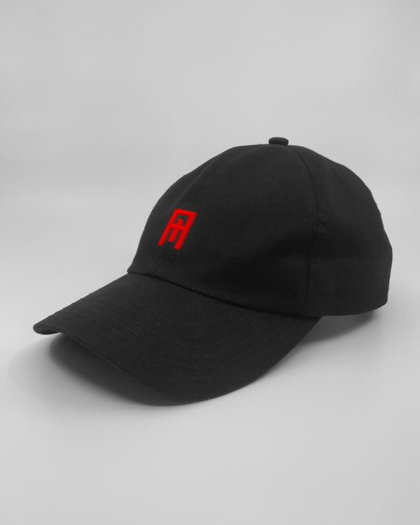 Nude Cult Black/Cult Red Cult Cap Side View