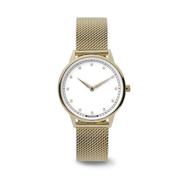 Hypergrand Watch, Petite - Gold, Front View