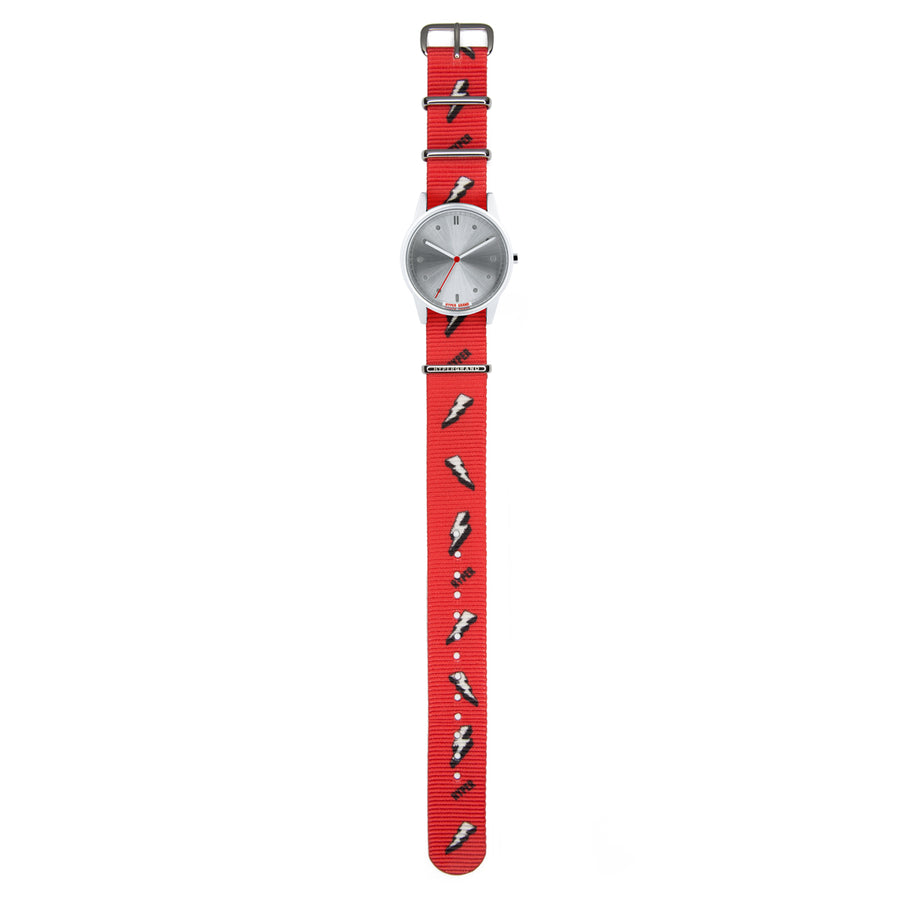 Hypergrand 01NATO Bolt Red 38mm Top View