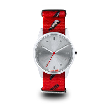 Hypergrand 01NATO Bolt Red 38mm Front View