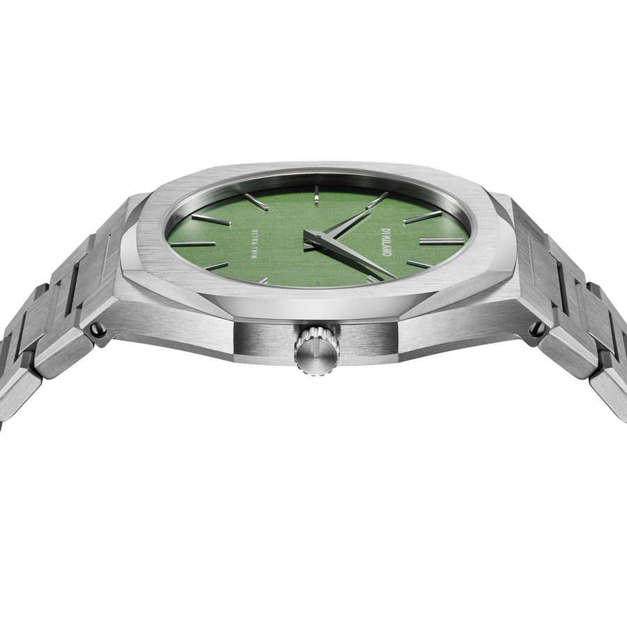 D1 Milano Moss Ultra Thin Bracelet 40mm Side View