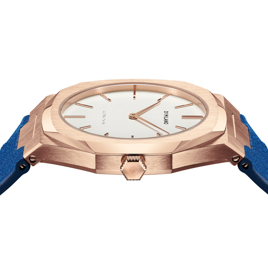 D1 Milano Ischia Ultra Thin Classic Leather 38mm Side View