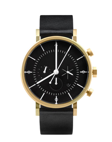 AÃRK Watch, Eon - Gold, Front View