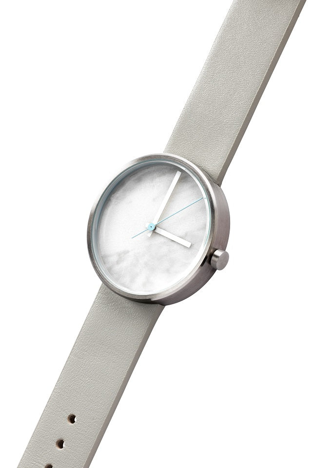 AÃRK Watch, Marble - Carrara, Top View 2