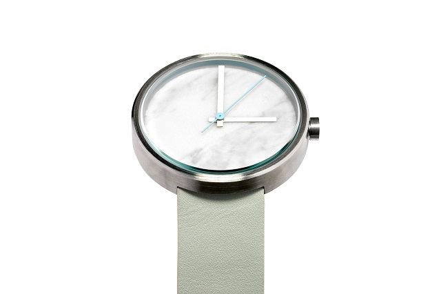 AÃRK Watch, Marble - Carrara, Top View