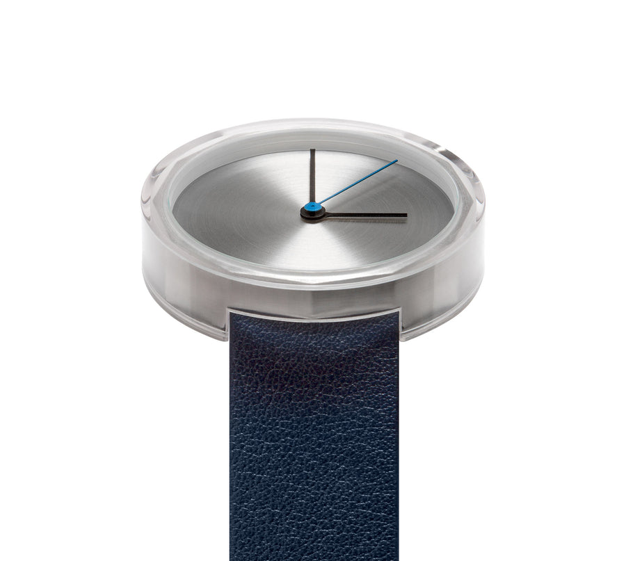 AÃRK Watch, Prism - Silver, Top View 4