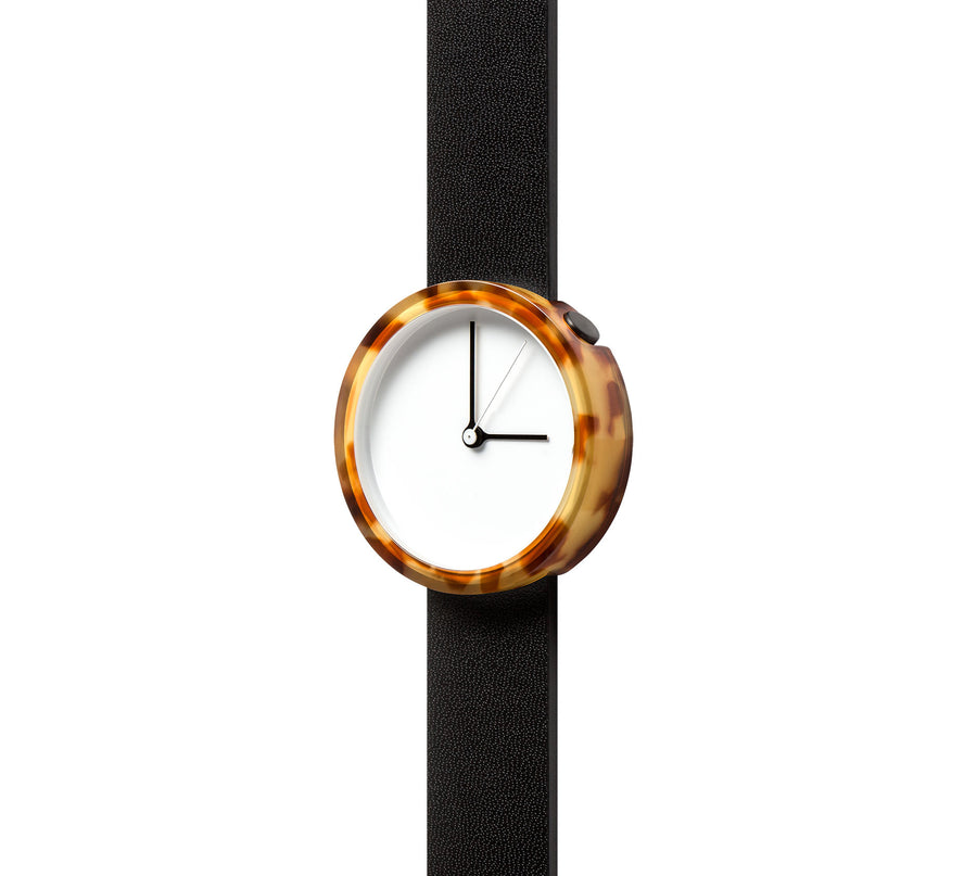 AÃRK Watch, Prism - Tortoise, Top View