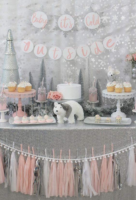 Baby It's Cold Outside Baby Shower Theme - Winter Baby Shower Theme