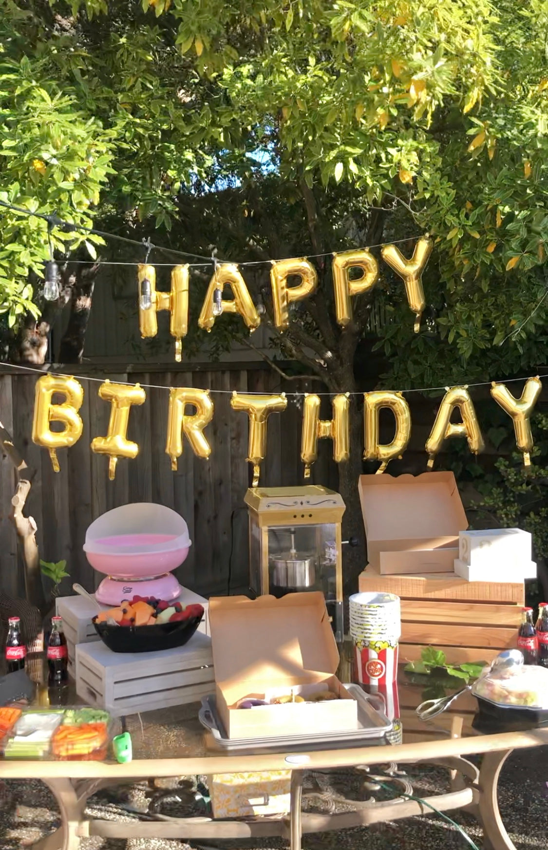 Outdoor Movie Night Ideas - Backyard Birthday Ideas - Pretty Collected