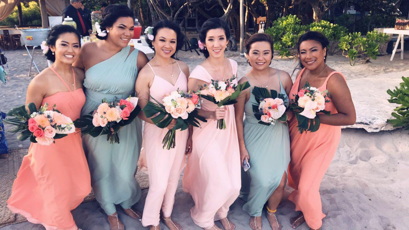 d723465911c Beach Wedding Bridesmaid Dresses - Mismatched Bridesmaid Dresses - Pretty  Collected