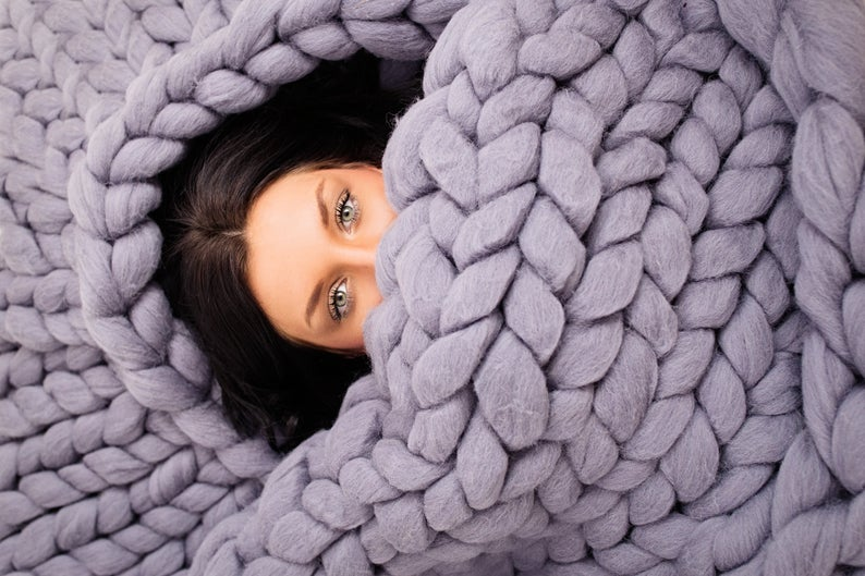 Cable Knit Blankets - Best Fall Blankets