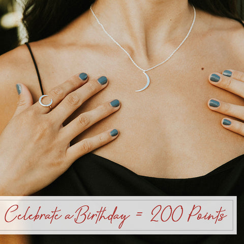 Celebrate a Birthday - Get 200 Points