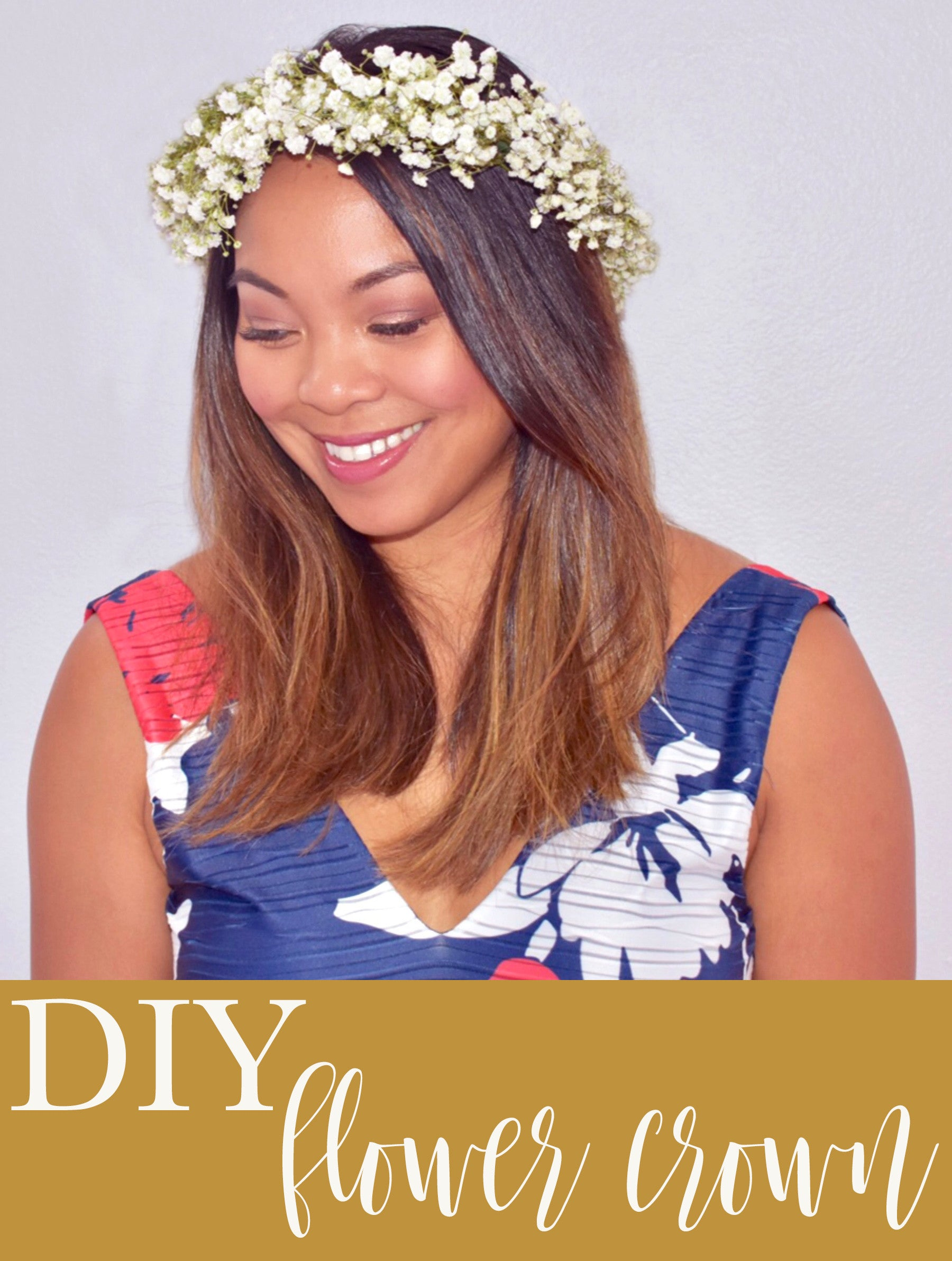 How to Make a DIY Baby's Breath Flower Crown